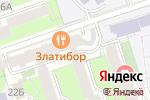 Схема проезда до компании Волна в Перми