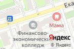 Схема проезда до компании Эверест в Перми