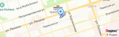 Православный детский сад на карте Перми
