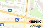 Схема проезда до компании Салют в Перми