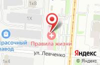 Схема проезда до компании Помощь в Перми