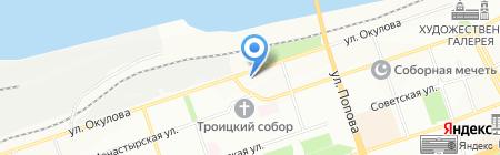 Банкомат Банк Финансовая Корпорация Открытие на карте Перми