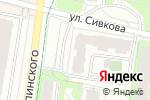 Схема проезда до компании Сбербанк Премьер в Перми