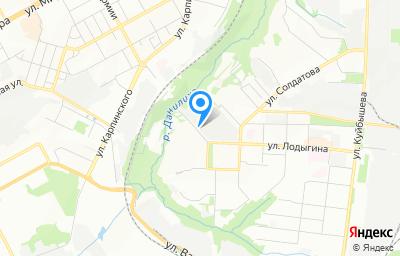 Местоположение на карте пункта техосмотра по адресу г Пермь, ул Лодыгина, д 55