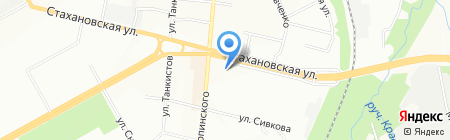 Банкомат КБ Агропромкредит на карте Перми