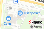 Схема проезда до компании Сапсан в Перми