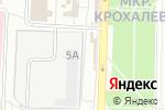 Схема проезда до компании Мясной магазин на ул. Гусарова в Перми