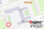 Схема проезда до компании Академия успеха в Перми