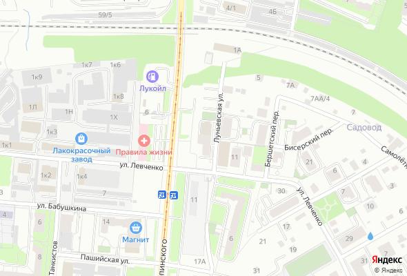 жилой комплекс по ул. Луньевская, 4