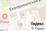 Схема проезда до компании Пермская прокуратура по надзору за соблюдением законов в исправительных учреждениях в Перми