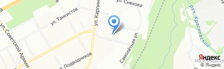 Детский сад №210 на карте Перми