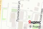 Схема проезда до компании Горизонт-Девелопмент в Перми