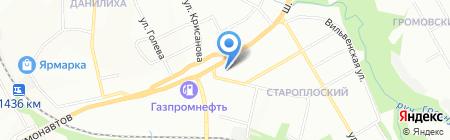 Банкомат КБ Петрокоммерц ОАО филиал в г. Перми на карте Перми