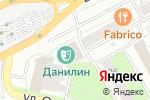 Схема проезда до компании ЭнергоПроф в Перми