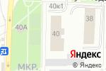 Схема проезда до компании Лифт-Сервис в Перми