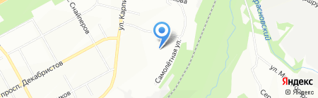 Адалет на карте Перми