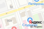 Схема проезда до компании Строительный двор в Перми