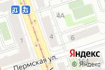 Схема проезда до компании Агентство страхования в Перми