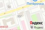 Схема проезда до компании Deke в Перми