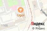 Схема проезда до компании Внедрение и Сервис в Перми