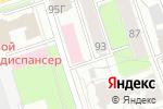 Схема проезда до компании Солана в Перми