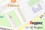 Схема проезда до компании Уральский регион в Перми