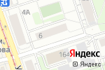Схема проезда до компании Кадастрия в Перми