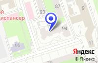 Схема проезда до компании ДЕТСКИЙ САД № 8 в Александровске