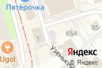 Схема проезда до компании Платный общественный туалет в Перми