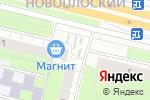 Схема проезда до компании Телец в Перми