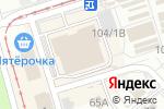Схема проезда до компании Кроша в Перми