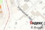 Схема проезда до компании Очаг в Перми