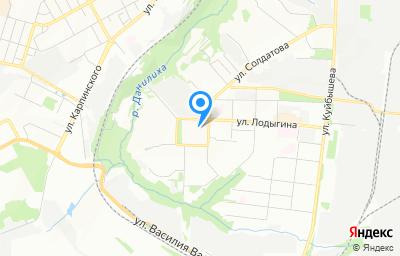 Местоположение на карте пункта техосмотра по адресу г Пермь, ул Лодыгина, д 34