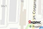 Схема проезда до компании От мамы к маме в Перми