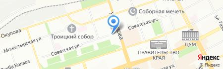 Министерство природных ресурсов на карте Перми