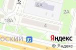 Схема проезда до компании Фанерный двор в Перми