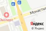 Схема проезда до компании GYROPERM в Перми