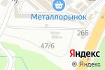 Схема проезда до компании Сантехника_Пермь в Перми