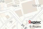Схема проезда до компании Delta Pay в Перми