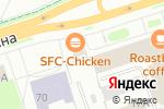 Схема проезда до компании Баскин Роббинс в Перми
