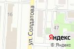 Схема проезда до компании СпутниК ТВ в Перми