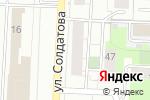 Схема проезда до компании Заправка в Перми