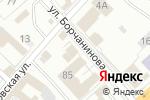 Схема проезда до компании Мужская парикмахерская в Перми