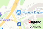 Схема проезда до компании БАРХАТ в Перми