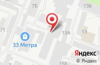 Схема проезда до компании Витаком в Перми