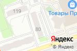 Схема проезда до компании МОНТ Урал в Перми