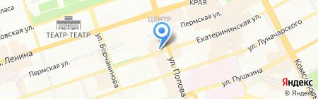 Этажи на карте Перми