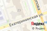 Схема проезда до компании Этажи в Перми