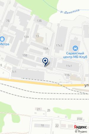 Автошинснаб-Прикамье на карте Перми