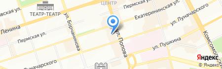 Риа на карте Перми